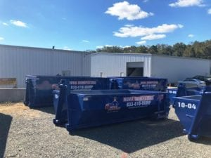 The benefits of a Northern Virgina home or business renting a dumpster