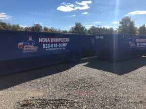 Nova Dumpsters provides rentals to home and offices n Potomac