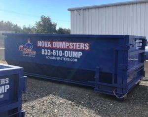 Nova Dumpsters serves homes and businesses in Reston, Virginia needing a dumpster rental