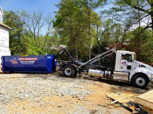 Dumpster rentals for homes and businesses in and around McLean, Virginia