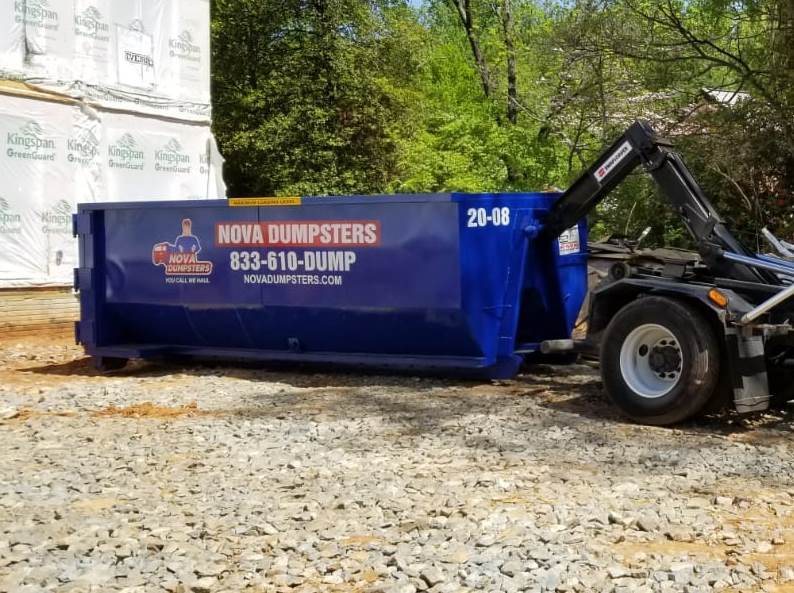 Dumpster Rentals for homes and businesses in Herndon, Virginia
