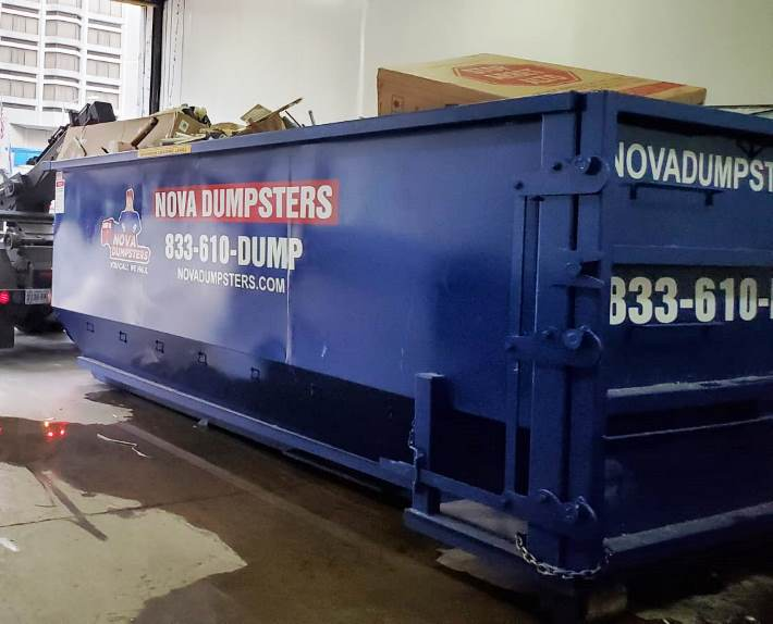 Nova Dumpsters offers a variety of dumpsters for rent in Lake Ridge Virginia.