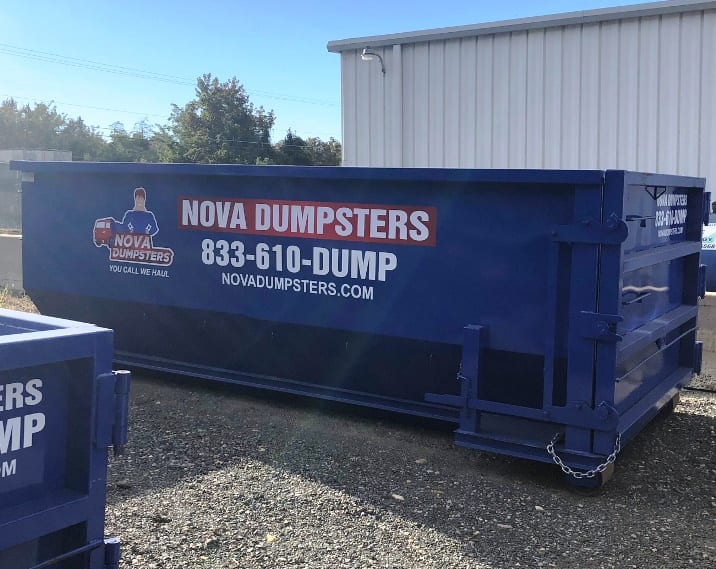 Dumpsters for rent in Temple Hills, Maryland.